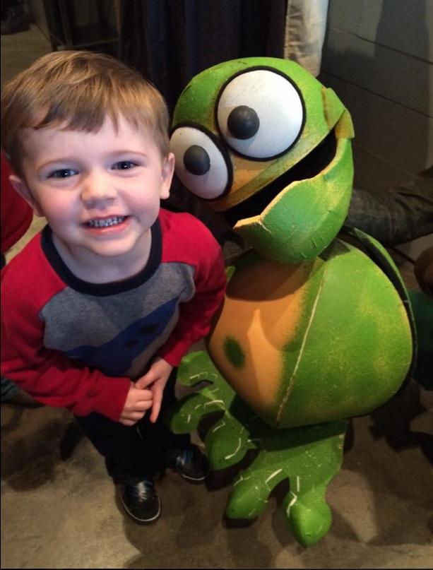 Jack is a fan of 'Hershel and the Hanukkah Goblins' pickle goblin