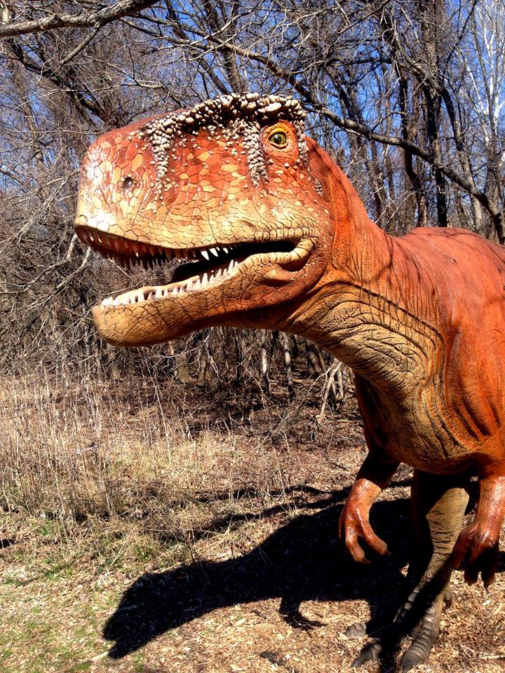 Make a prehistoric friend and get a little fresh air while you're at it. Photo: Heard Natural Science Museum & Wildlife Sanctuary.