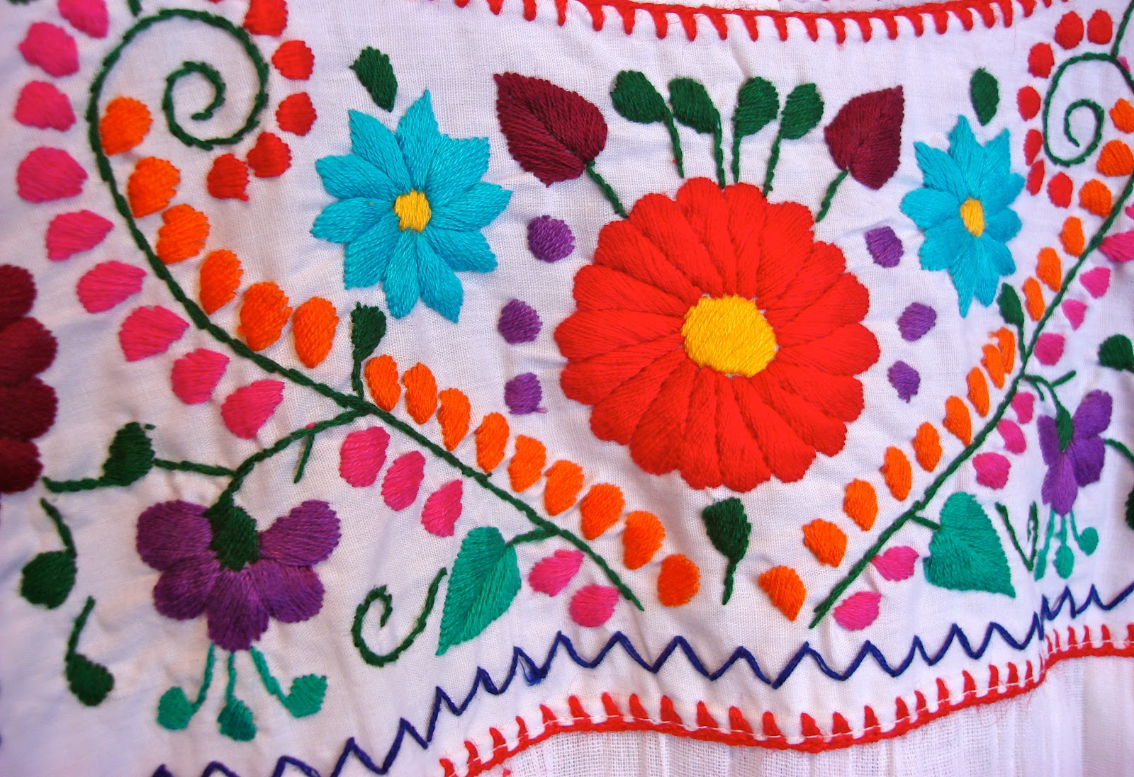 Learn the art of embroidery at an Open Arts Studio class. Photo: St. Matthew's Cathedral Arts