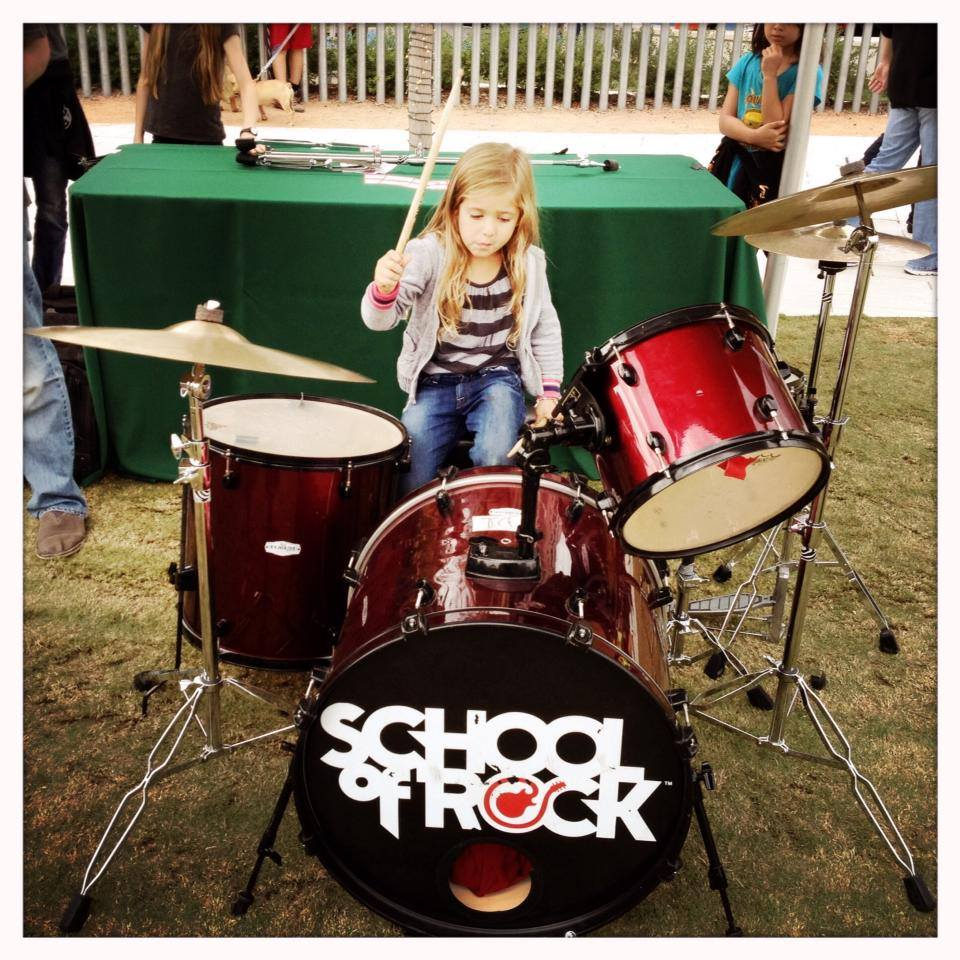 Try out your musical skills this weekend at Klyde Warren Park. Photo: School of Rock