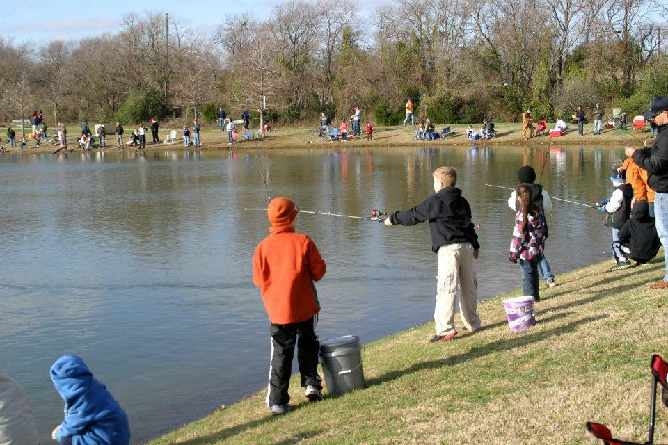 Catch a whopper this Saturday. Photo: Frisco Fun - Frisco Parks and Recreation