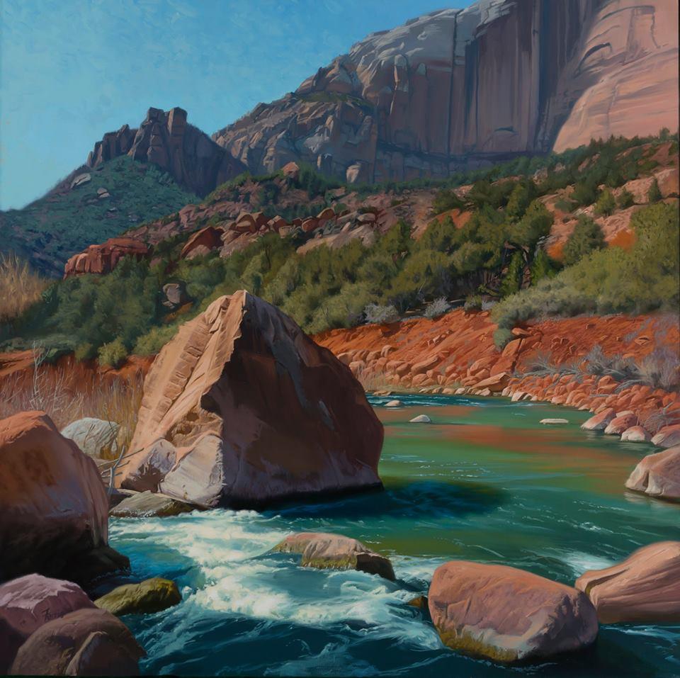 Virgin River Rock, Dennis Farris