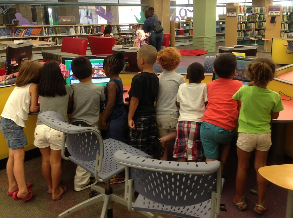 Explore your local library this spring break. Photo: Dallas Public Library