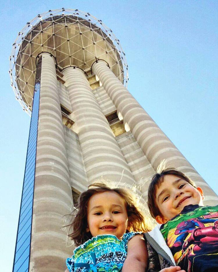 Celebrate Easter up in the clouds at Reunion Tower. Photo: Reunion Tower