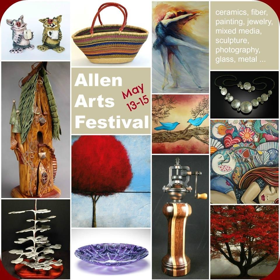 allen arts festival poster