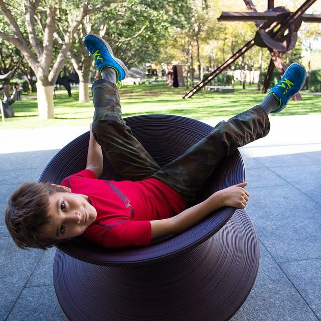 Discover how fun sculpture can be! Photo: Nasher Sculpture Center