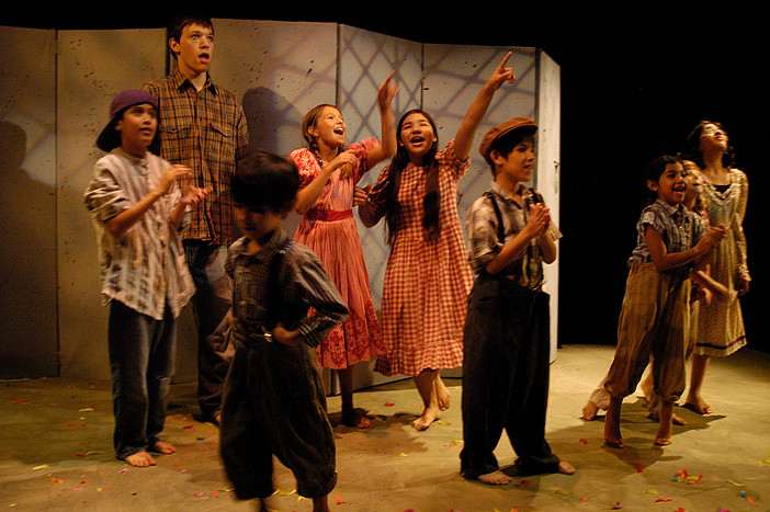 Everyone's a star at Teatro Dallas' summer theater camp. Photo: Teatro Dallas