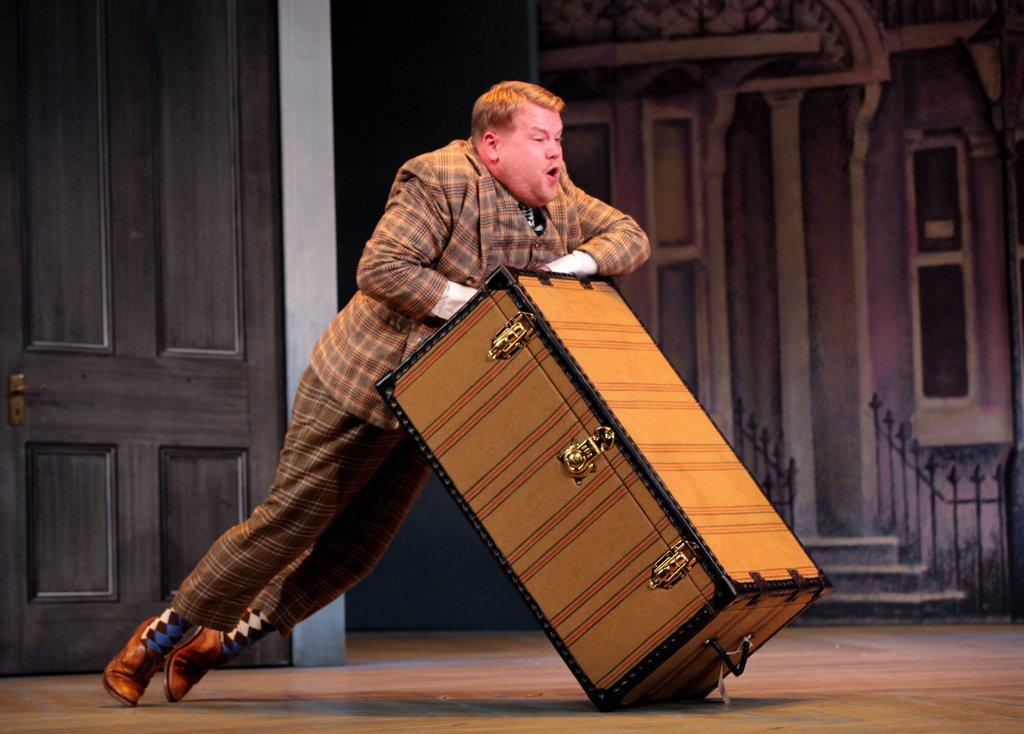 James Corden in One Man, Two Guvnors (NYT)