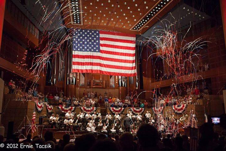 Get inspired at the Meyerson this Fourth of July. Photo: Dallas Winds