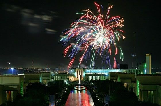 Come celebrate at Fair Park. Photo: Justin Terveen