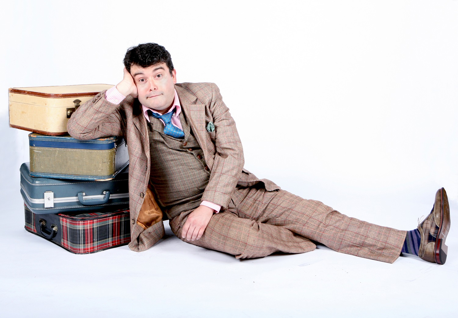 "Brian Gonzales in ""One Man, Two Guvnors"" Photo: Kelsey Leigh Ervi"