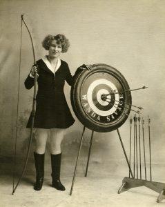 W w bow n target