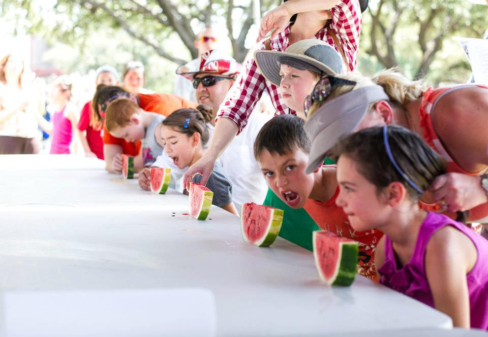 Are you the fastest watermelon eater in the west? photo: