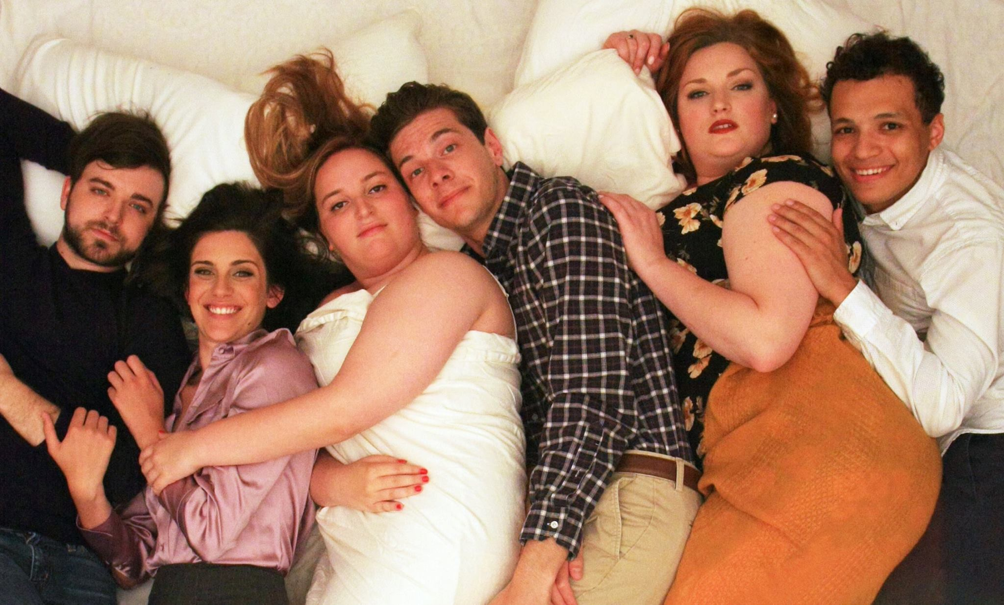 The cast of I Love You Because