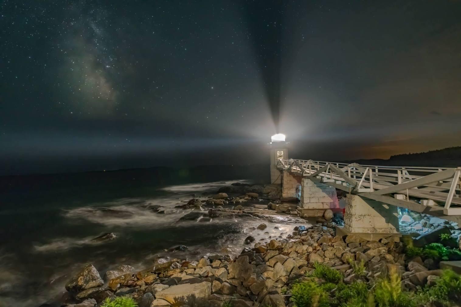 Bob Chilton - Lighthouse and Bridge