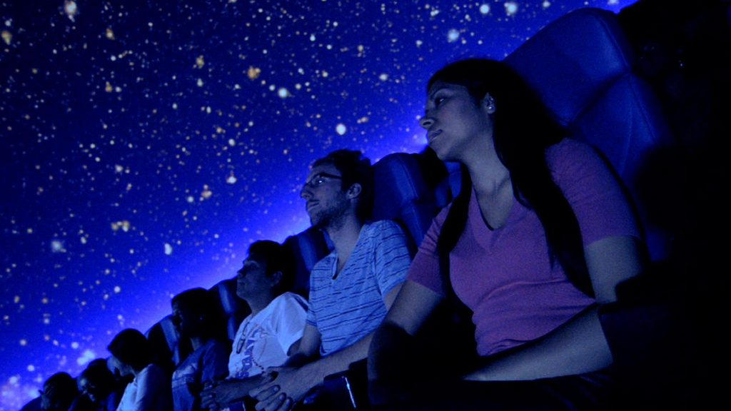 Gaze up at the night sky without mosquitoes or the humidity. Photo: Planetarium at the University of Texas at Arlington
