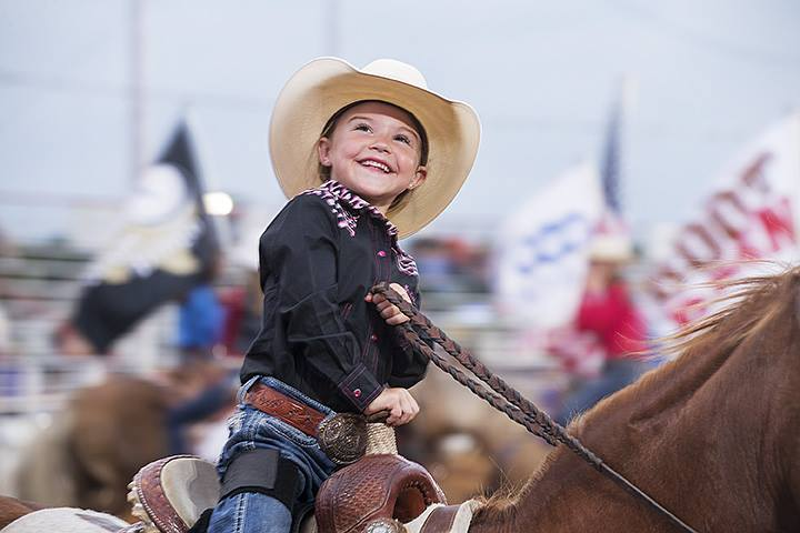 Mosey up to Denton for some western fun. Photo: North Texas Fair and Rodeo