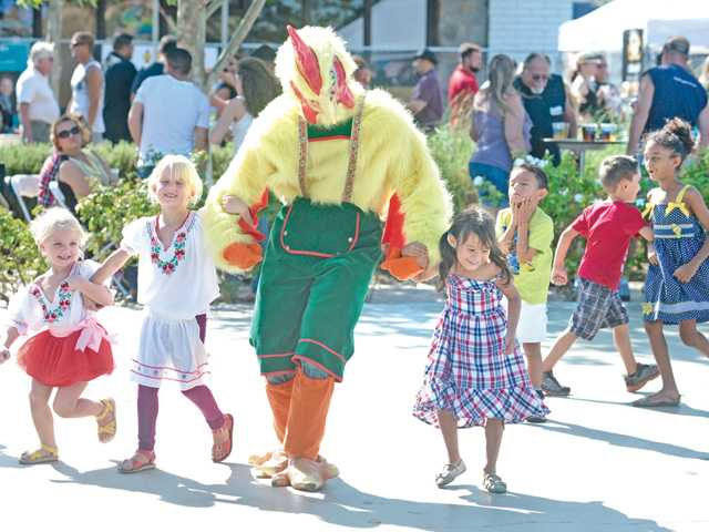 Get your chicken on at McKinney Oktoberfest. Photo: oktoberfestmckinney.com