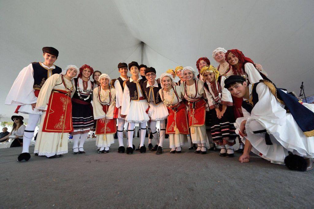 "Everyone say, ""Baklava!"" Photo: Greek Food Festival of Dallas"