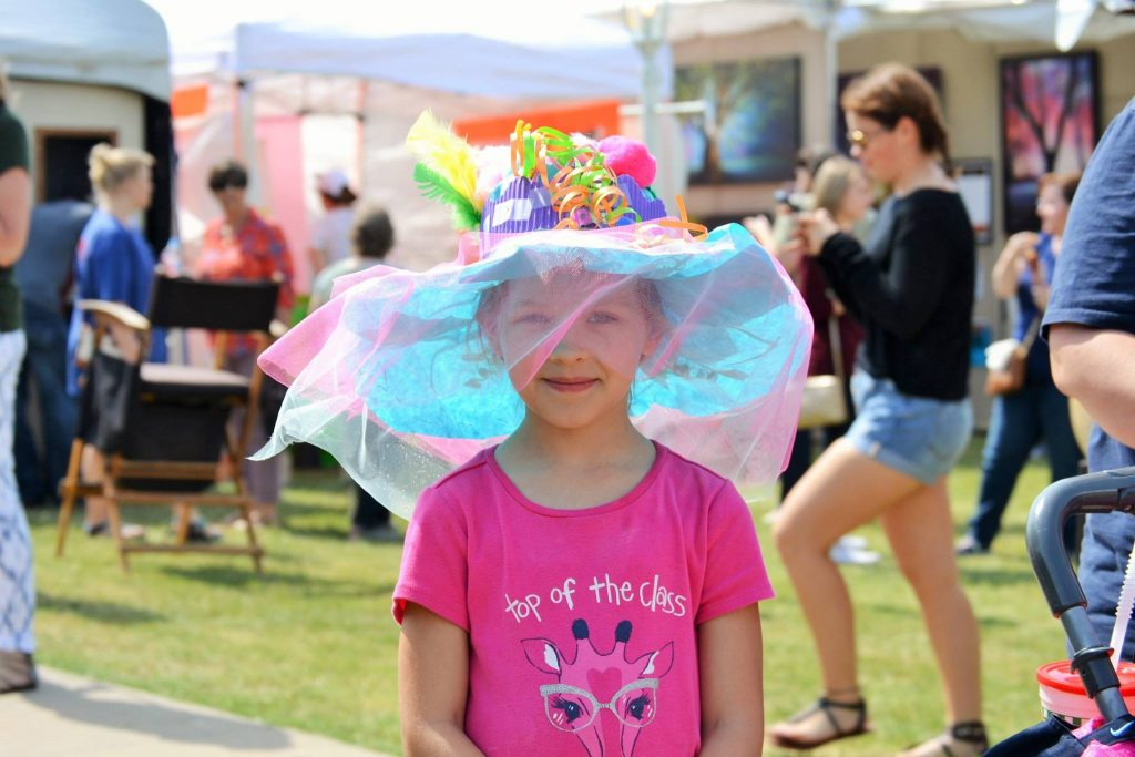 Make your own chapeau at the Cottonwood Art Festival. Photo: Cottonwood Art Festival