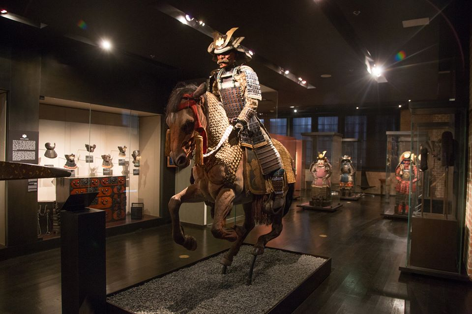 The armor of Samurai warriors is awesome. Photo: Daniel Driensky Photography