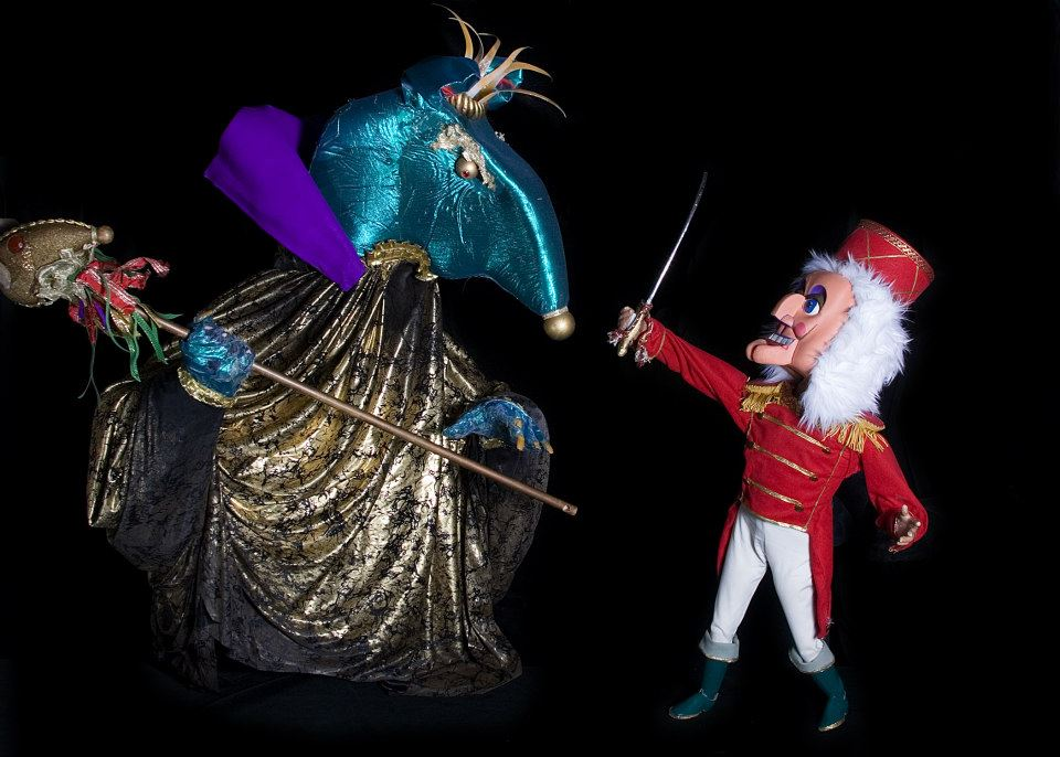 Head to Dallas Children's Theater to see 'The Nutcracker' performed by puppets. Photo: Kathy Burks Theatre of Puppetry/DCT