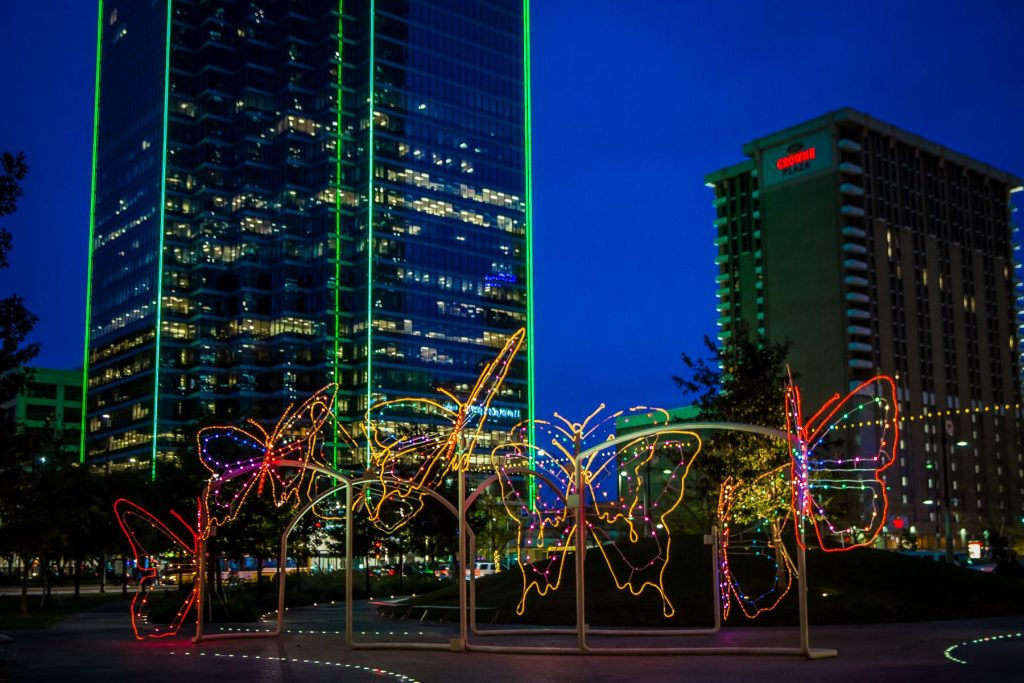Take a stroll through downtown Dallas this weekend. Photo: Thomas Garza Photography