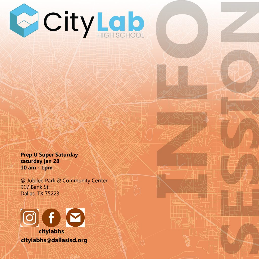 CityLab INFO SESSION_Super Saturday