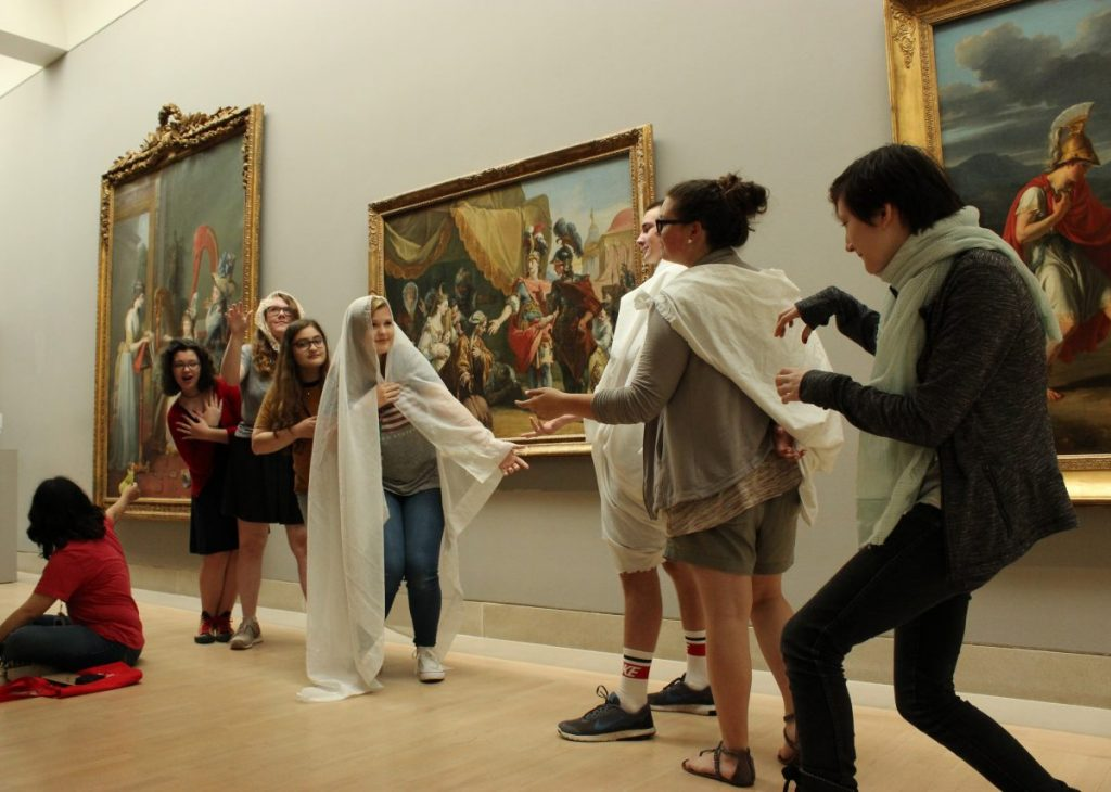 Head to the DMA on Thursday for a night of no-phones fun. photo: Dallas Museum of Art