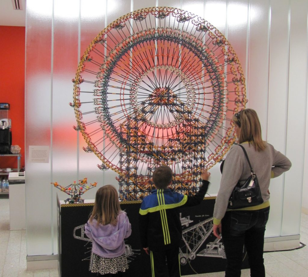 Check out toys from days gone by at the Building Toys and Toy Buildings exhibition. Photo: Dallas Center for Architecture