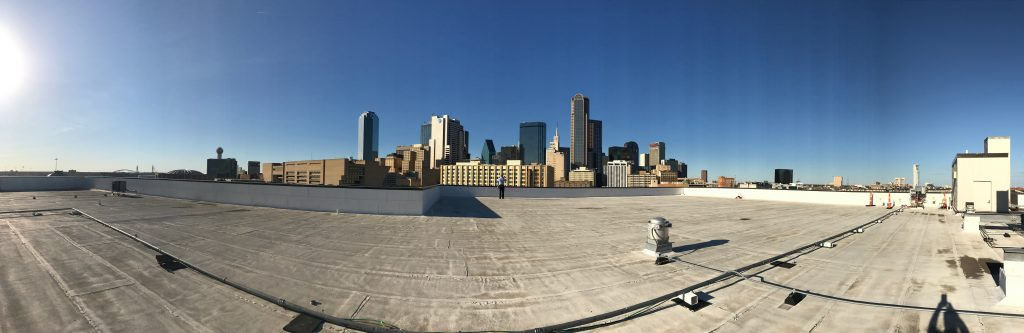 view from roof of CityLab HS