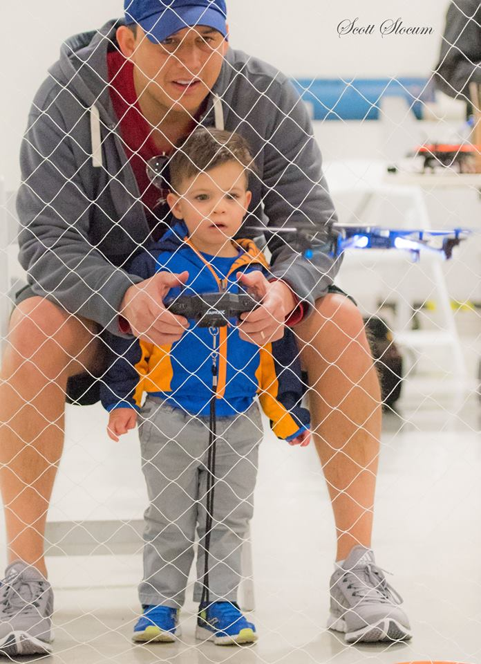 Bring your favorite co-pilot to Drone Wars IV. Photo: Cavanaugh Flight Museum