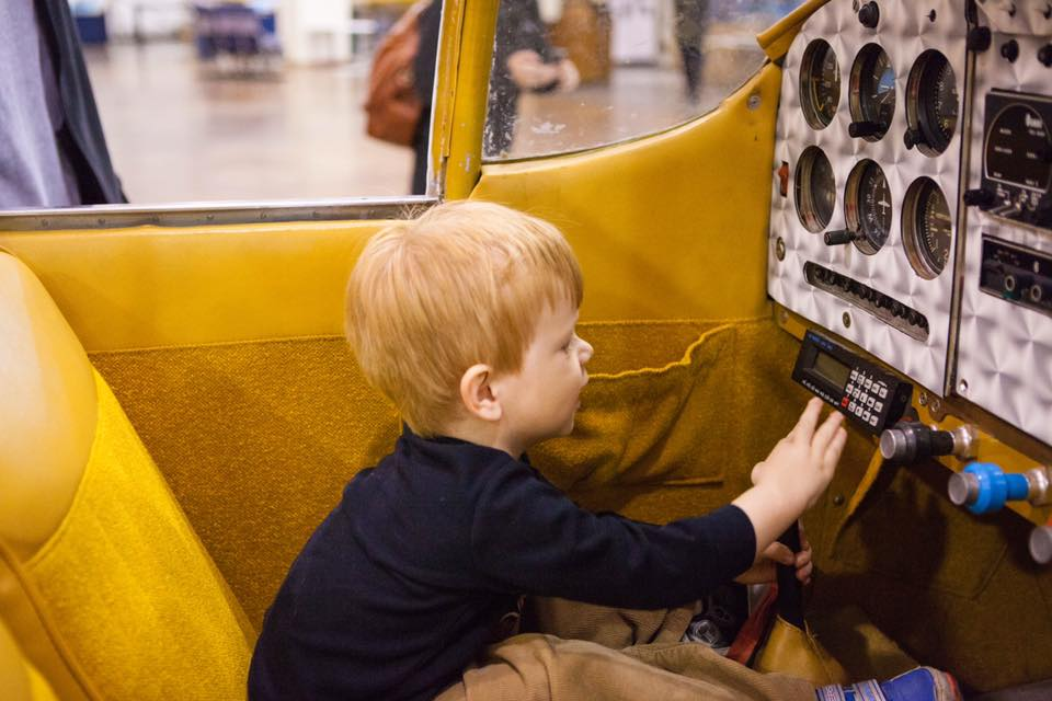 Let your imagination fly this spring break. Photo Frontiers of Flight Museum