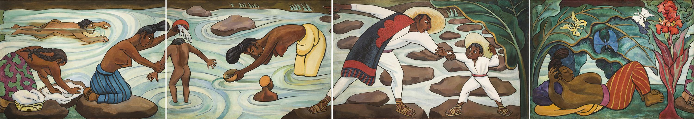 Diego Rivera_Juchit+ín River R+¡o Juchit+ín