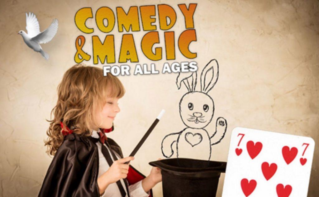 How about a little magic? Photo: Arlington Improv
