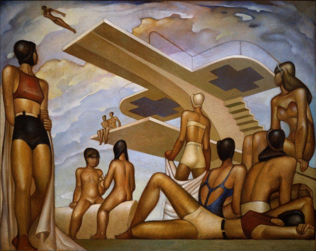 Jorge Gonz+ílez Camarena_The Bathers (Las Ba+¦istas)