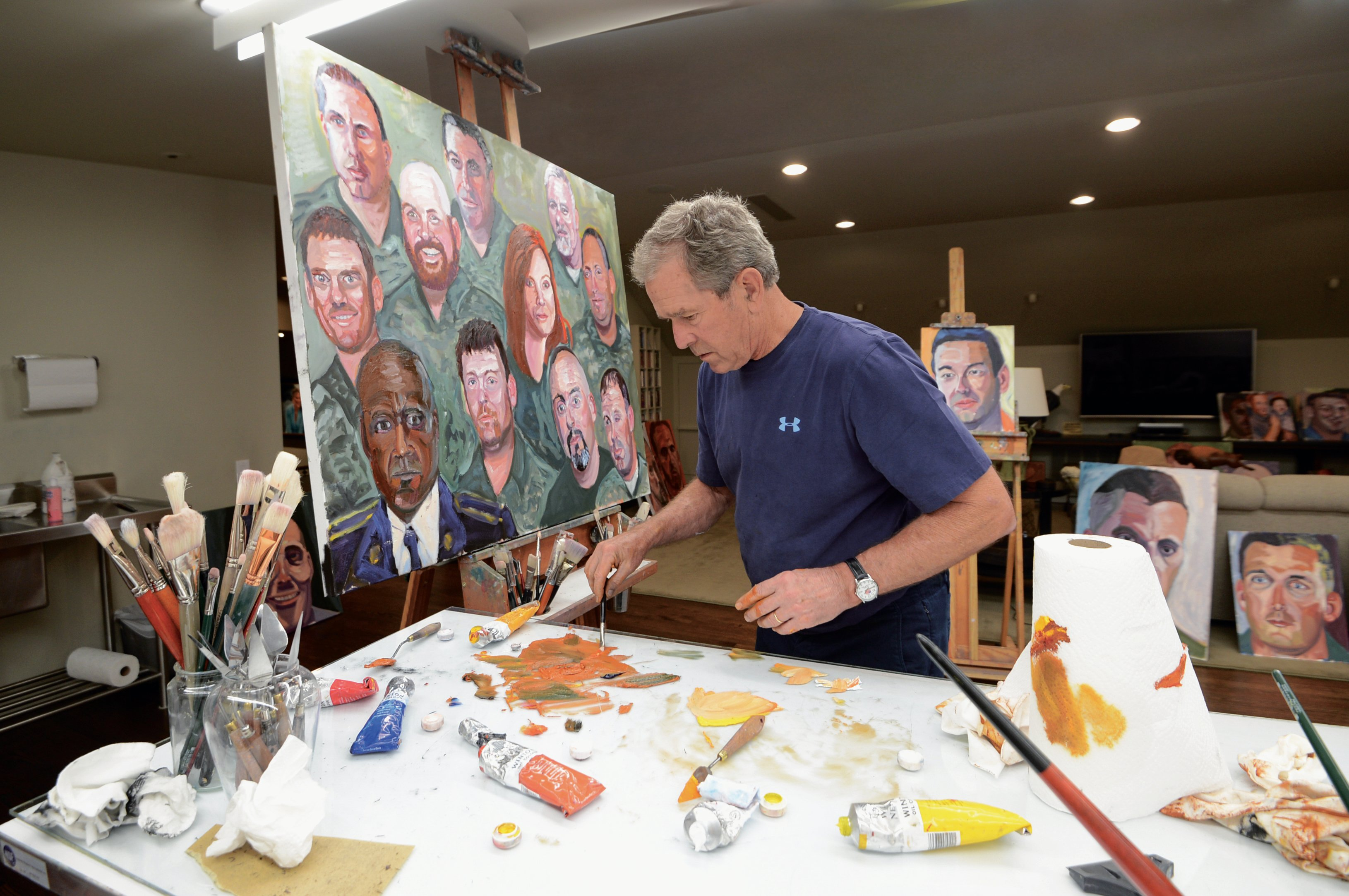 A President Paints With Pride Art Amp Seek Arts Music