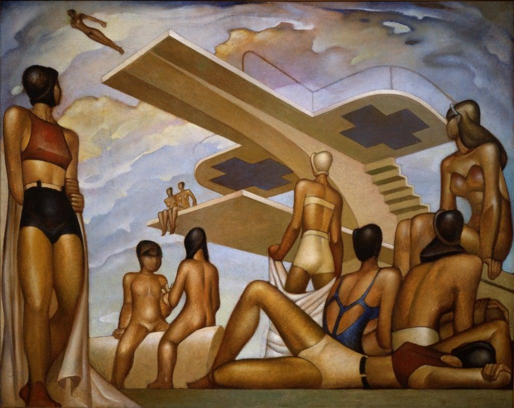 Jorge Gonz ílez Camarena_The Bathers (Las Ba ¦istas)