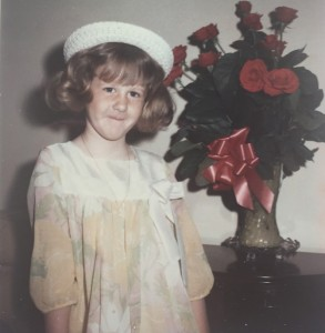 I really knew how to rock an Easter bonnet in 1972. Photo: Therese Powell