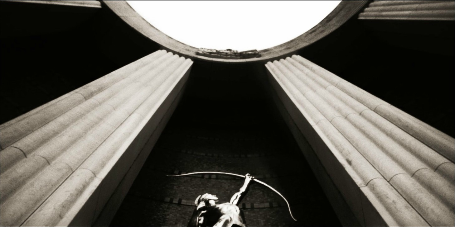 Fair Park's Hall of State photographed by Frank Lopez with a pinhole camera.
