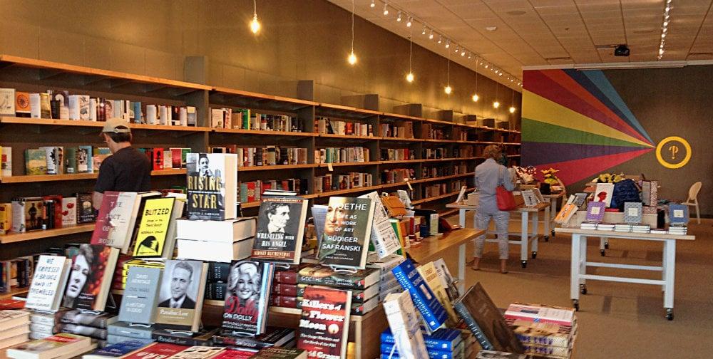 Interior of Interabang Books