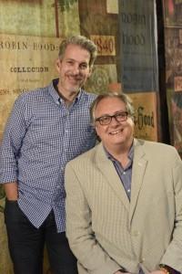 Lewis Flinn, left, and Douglas Carter Beane Photo: Karen Almond