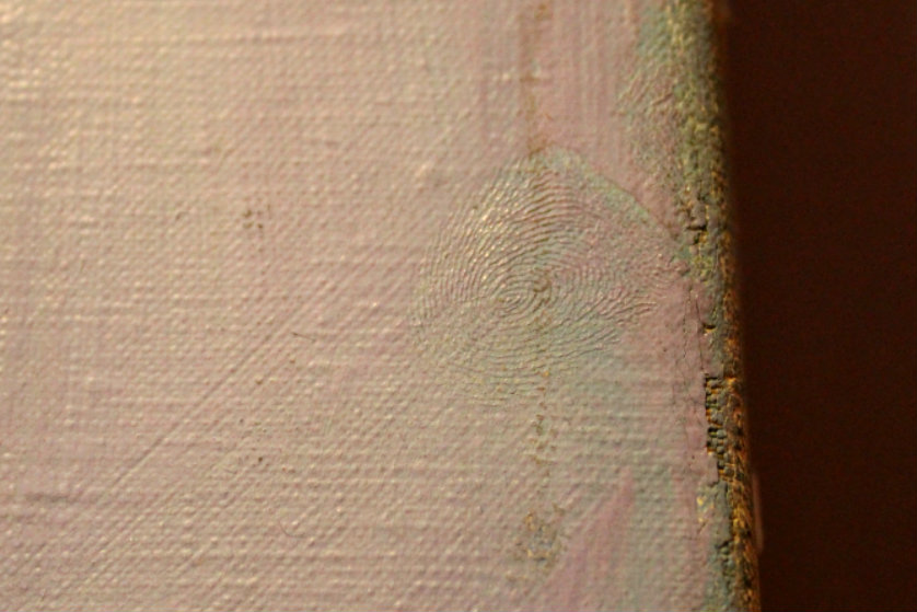Steichen's thumbprint