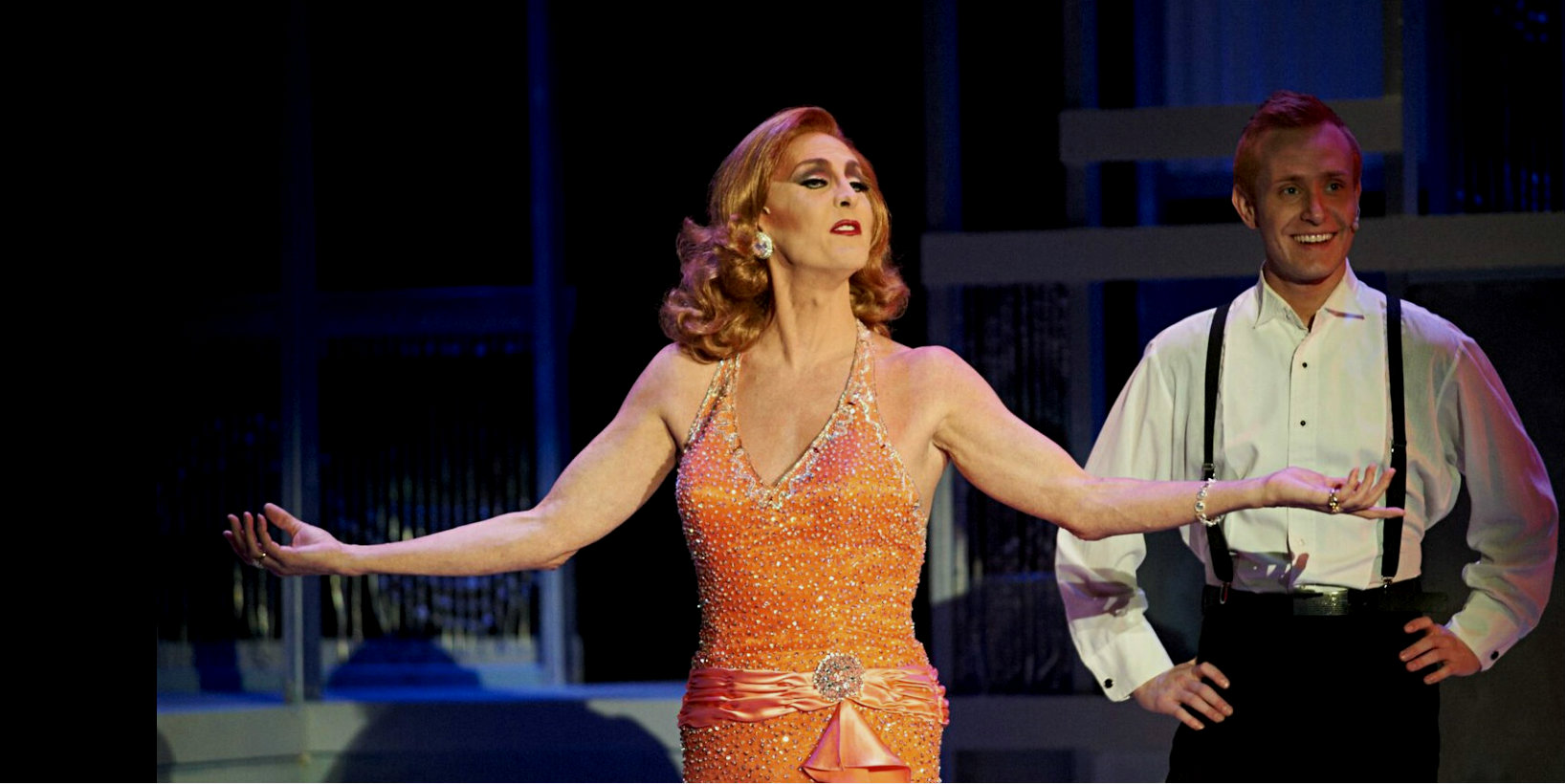 Performing in 'Broadway Our Way' in 2011