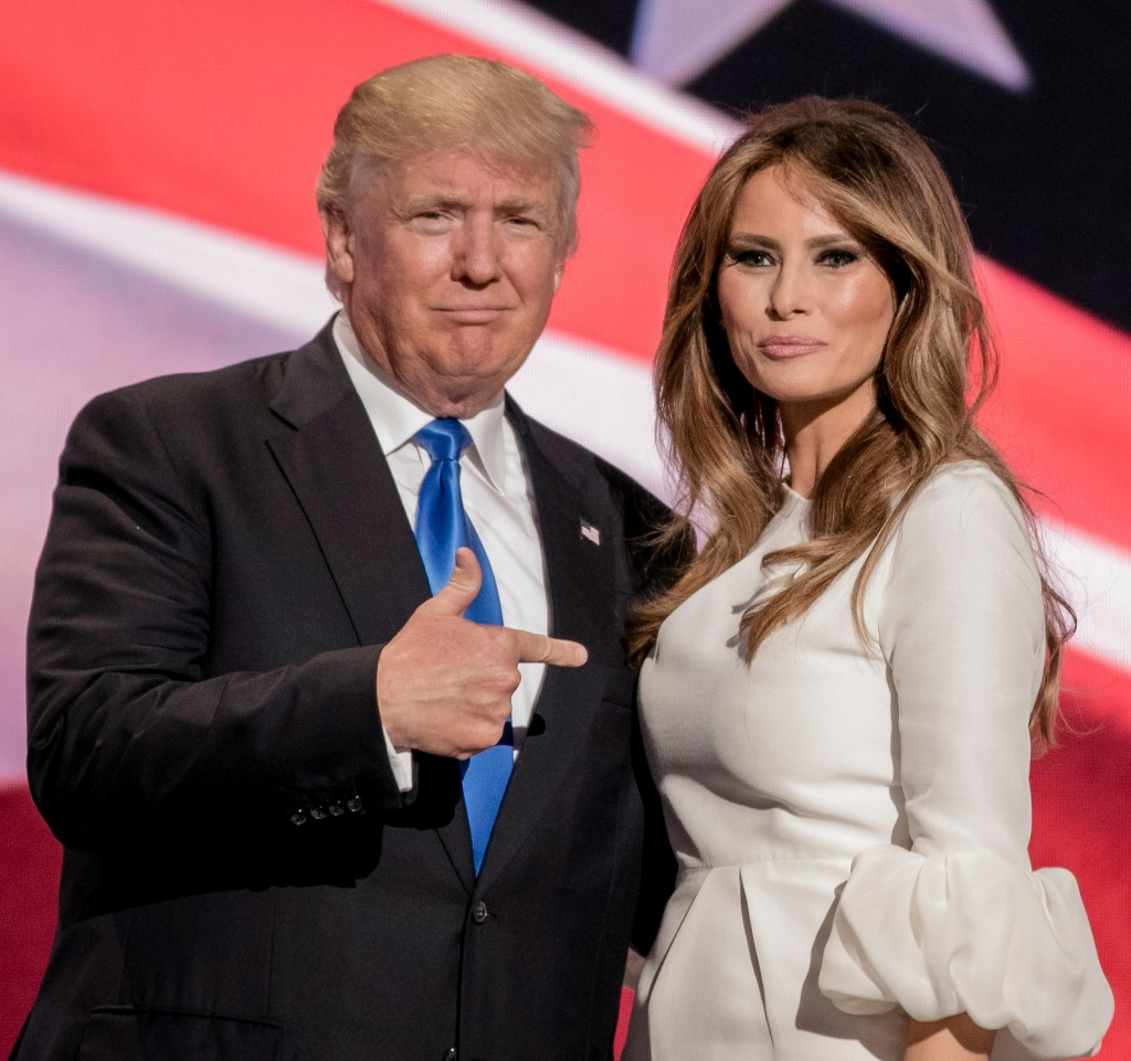 Donald and Melania Trump Photo: mark reinstein / Shutterstock.com