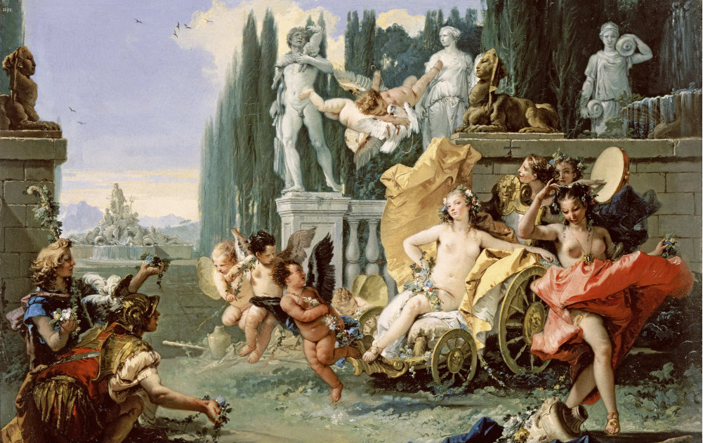 Giovanni Battista Tiepolo 'The Empire of Flora'