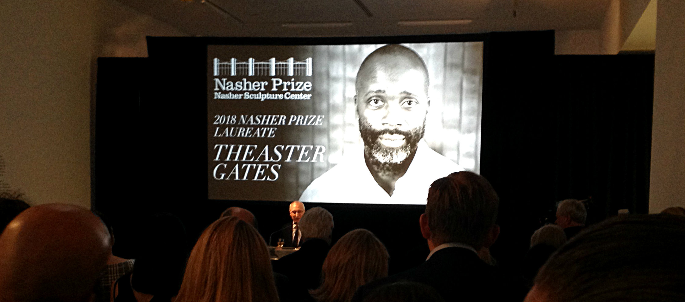 Theaster Gates announcement