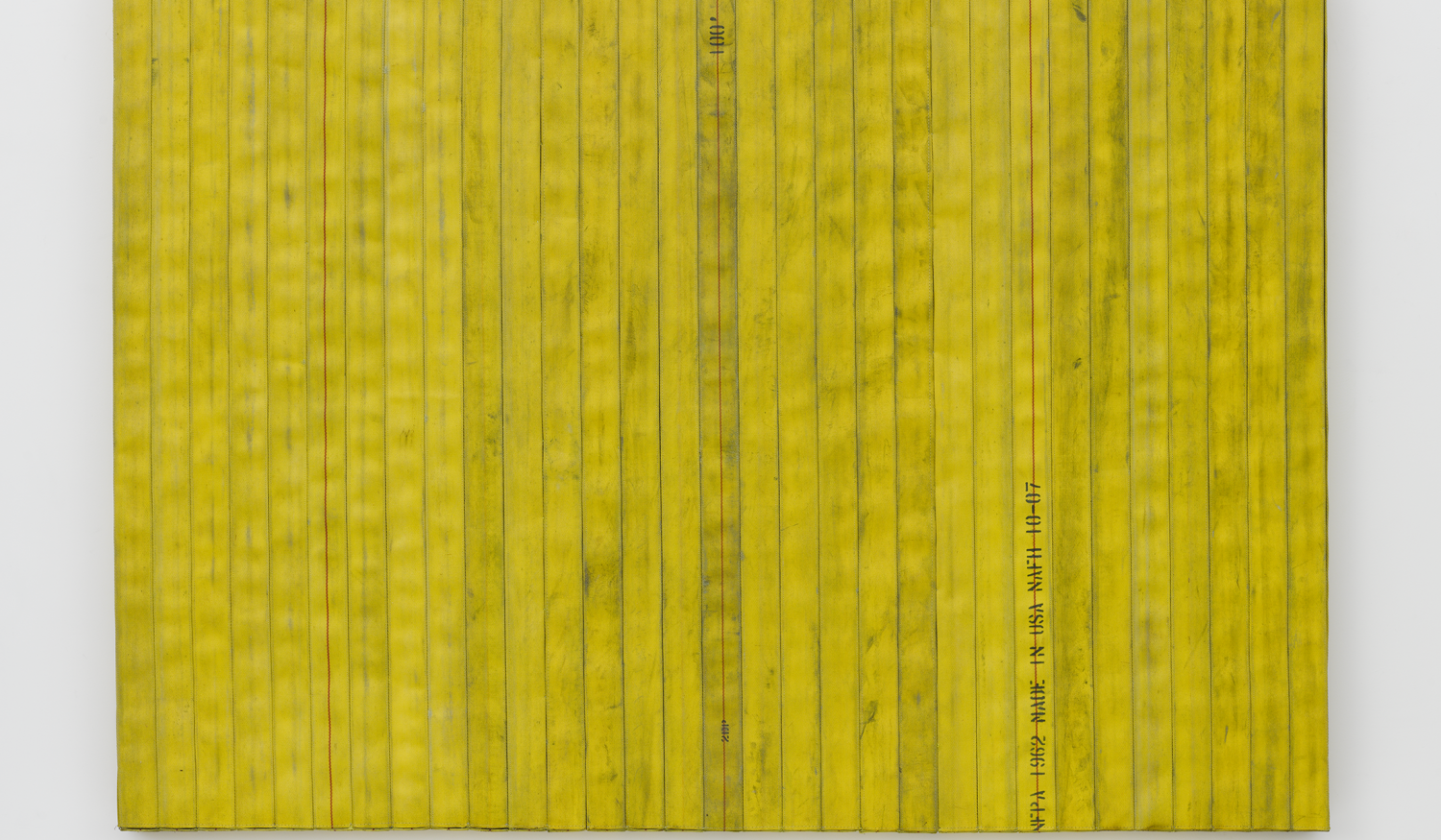 Theaster Gates, Civil Tapestry (High Yellow)