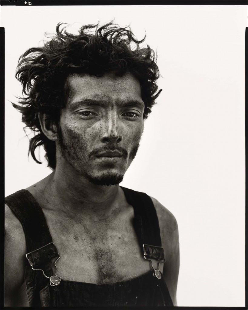 Roberto Lopez, Oil Field Worker, Lyons, Texas, September 28, 1980 Photo: Richard Avedon: In the American West