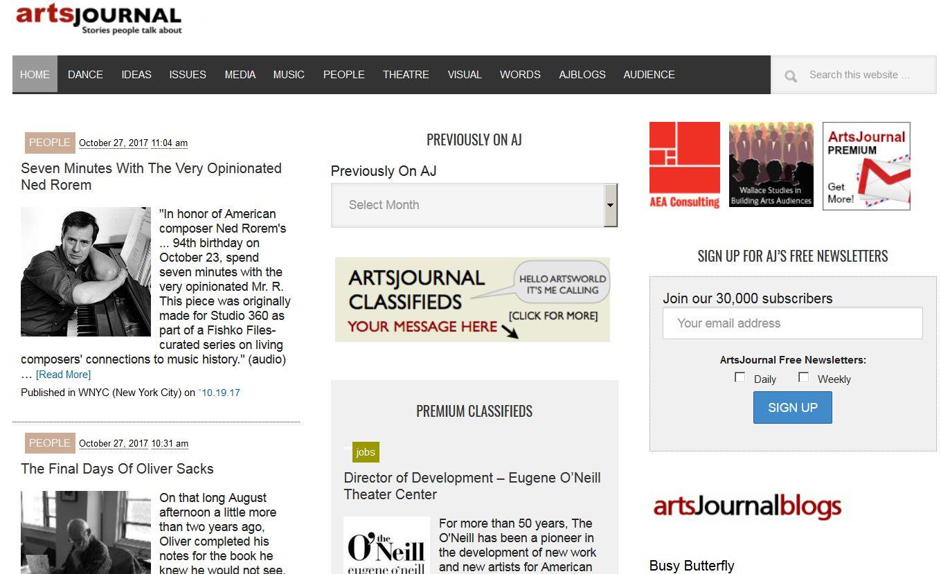 Artsjournal.com